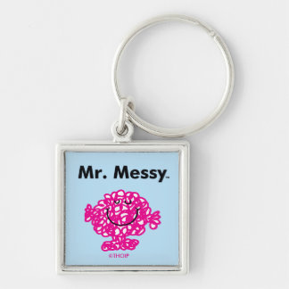 Mr. Men | Mr. Messy Is Cute, But Messy Key Ring
