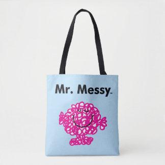 Mr. Men | Mr. Messy Is Cute, But Messy Tote Bag