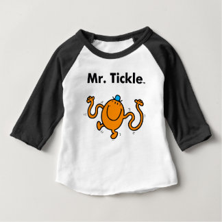 Mr. Men | Mr. Tickle Will Tickle Baby T-Shirt