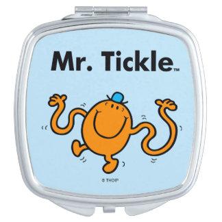 Mr. Men | Mr. Tickle Will Tickle Travel Mirror