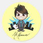 """Mr. Metropolitan"" Stickers"