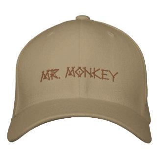 Mr. Monkey banana cap Embroidered Baseball Caps