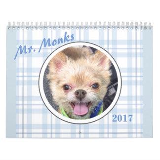 Mr. Monks 2017 Calendar