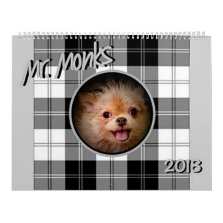 Mr. Monks 2018 Calendar