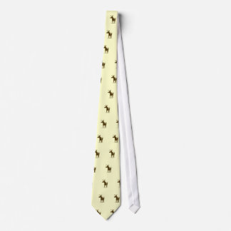 Mr. Moose Goes to the Office Tie