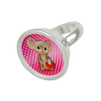 Mr. Mouse Photo Rings