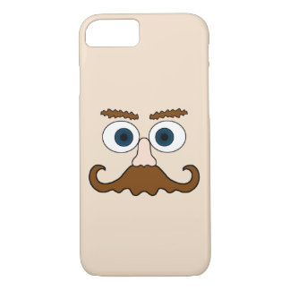 Mr Moustache iPhone 7 Case