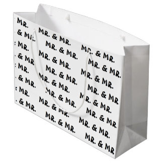 """""""Mr. & Mr."""" Gift Bag"""
