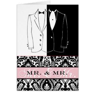 Mr. & Mr. II Note Card