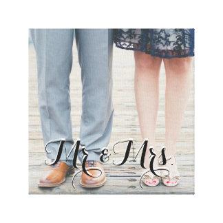 Mr. & Mrs. Canvas Canvas Print
