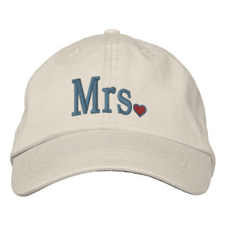 Mr & Mrs Embroidery Embroidered Cap
