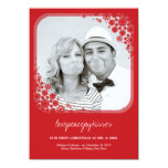 Mr & Mrs First Christmas Wedding Snowflakes Card Personalized Invite