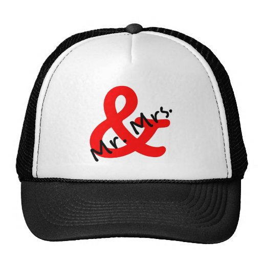Mr. & Mrs. Trucker Hat