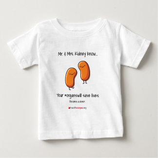 Mr & Mrs Kidney.ai Baby T-Shirt