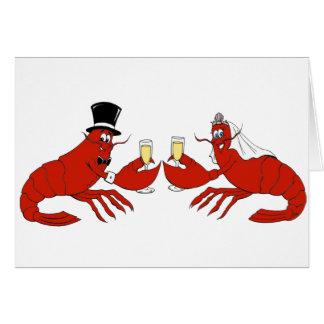 Mr. & Mrs. Lobster Card