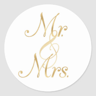 Mr. & Mrs. Stickers
