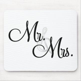 Mr. & Mrs. Unique Items Mousepad