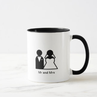 Mr & Mrs Wedding Mug