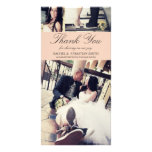 MR & MRS | WEDDING THANK YOU CARD PERSONALIZED PHOTO CARD
