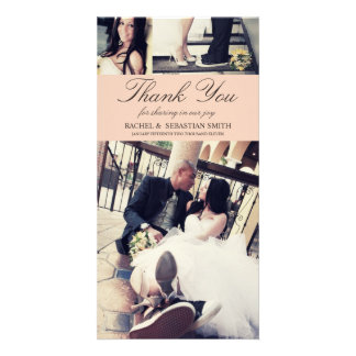 MR & MRS | WEDDING THANK YOU CARD PICTURE CARD