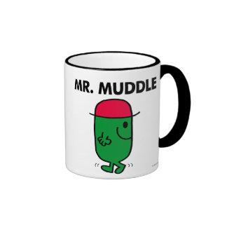Mr. Muddle | Walking Backwards Ringer Coffee Mug