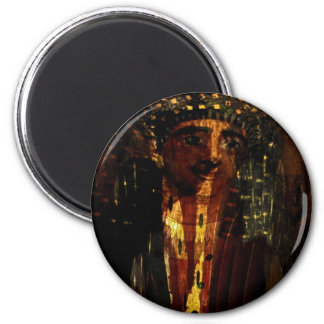 Mr Mummy gifts& greetings 6 Cm Round Magnet