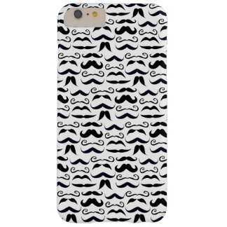 Mr. Mustache Hipster Pattern Barely There iPhone 6 Plus Case
