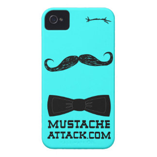 Mr. mustache wink with bow tie for   iPhone 4 Case-Mate case