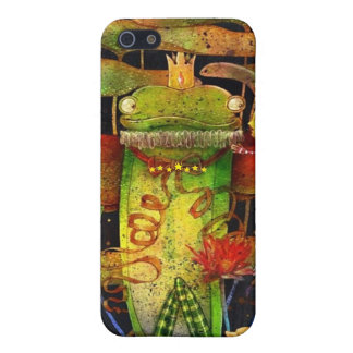 Mr. Myth. Frog iPhone 5 Covers