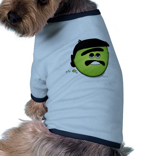 Mr Olie The Moody Olive - Cool Doggie Tee Shirt