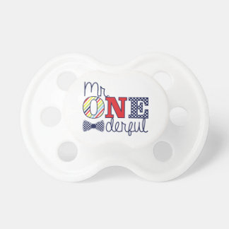 Mr. ONEderful 6+ months BooginHead® Pacifier
