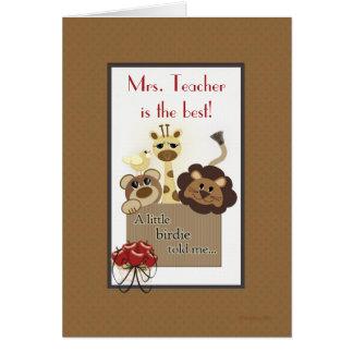 Mr or Mrs. Teacher Template