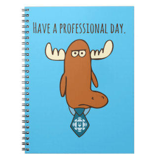 Mr. Orlando - Have A Professional Day Note Books