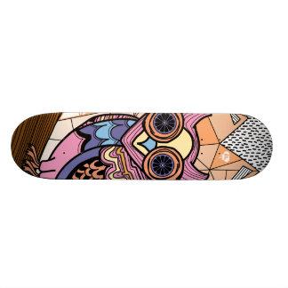 Mr. Owl deck Skate Board