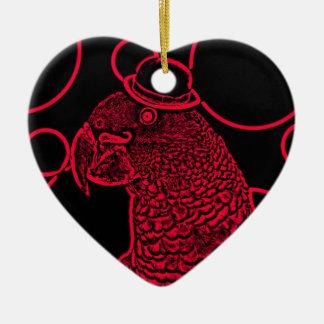 Mr parrot ceramic ornament