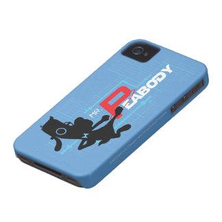 Mr. Peabody Digi iPhone 4 Case-Mate Cases