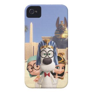 Mr. Peabody & Sherman in Egypt iPhone 4 Case-Mate Case