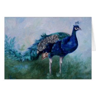 Mr. Peacock Blank Card