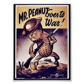 Mr. Peanut Goes To War Posters