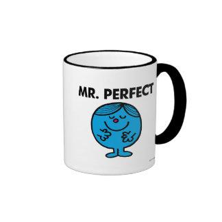 Mr. Perfect | Quietly Content Ringer Mug