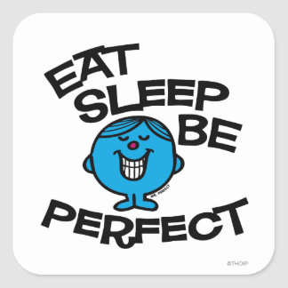 Mr. Perfect's Plan For Life Square Sticker