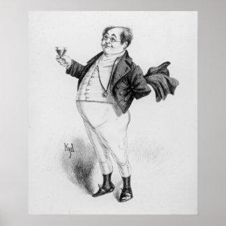 Mr. Pickwick Print