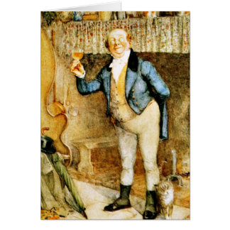 Mr. Pickwick proposes a toast by Frank Reynolds Card