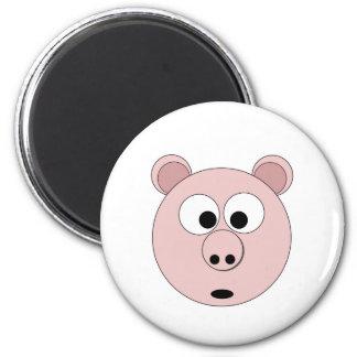 Mr Pig the 1st 6 Cm Round Magnet