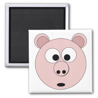 Mr Pig the 1st on Magnet