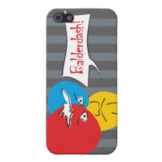 Mr.Pique Balderdash iPhone 4 case