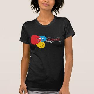 Mr.Pique Balderdash ladies dark t-shirt