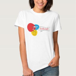 Mr.Pique Balderdash ladies t-shirt