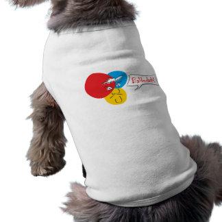 Mr.Pique Balderdash pet shirt
