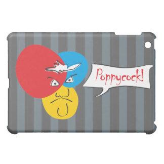 Mr.Pique Poppycock iPad case